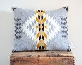 Geometric Wool Pillow from Scout and Whistle.