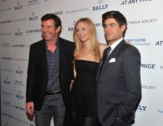 "Dennis Quaid, Heather Graham and Zac Efron attend the Cinema Society & Bally screening of Sony Pictures Classics' ""At Any Price"" at Landmark Sunshine Cinema on April 18"