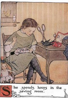 Quill Cottage: Miss Sandy's Sewing Bird...