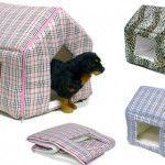 Fancy Designer Indoor Dog House Bed