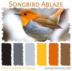 Songbird Ablaze Color Palette