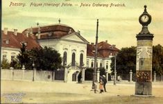 Stará Bratislava Bratislava, Taj Mahal, Building, Painting, Travel, Times, Voyage, Buildings, Painting Art