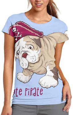 Camiseta para chica, de manga corta y color azul claro con diseño bulldog inglés. Bulldogs, Unisex, V Neck, Mens Tops, T Shirt, Women, Fashion, English Bulldogs, Best T Shirts
