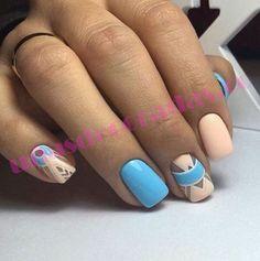 Más de 50 diseños de uñas pintadas para que puedas inspirarte y sacar nuevas ideas para pintar tus uñas ya sean cortas o largas.