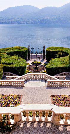 Travelling - Lago di Como, Villa Carlotta, Italy