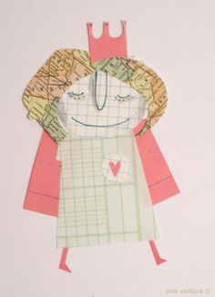 beautiful scrap of paper #1 by ana ventura, via Flickr
