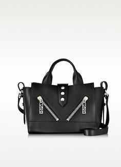 f497a704430f KENZO Black Leather Mini Kalifornia Handbag €395