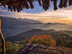Annapurna mountain range in Nepal