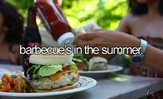 Barbecue's in the summer • Happy Things