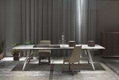 Flexform, made in Italy: Feel Good chairs & Soffio table, projects by Antonio Citterio. Milan 2015. #piso18casa-flexform #masaryk #flexform #luxury #luxurylifestyle #qualitybrand #beautifullifestyle #madeinitaly #piso18casa_flexform #italiandesign #contemporarydesign #contemporaryinteriors #contemporary #modern #modernfurniture #moderndesign #moderninteriors #luxuryfurniture #interiordesign #luxeinteriors #interiorarchitecture #polanco #furniture #antoniocitterio #chair #table #desk…