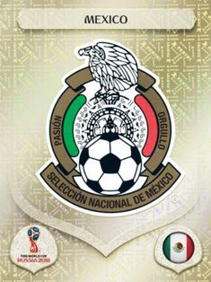 Mexico 2018 World Cup Finals card. World Cup Russia 2018, World Cup 2018, Fifa World Cup, Fifa 1, America Album, Mexico Wallpaper, Word Cup, Mexico Soccer, Football Mexicano