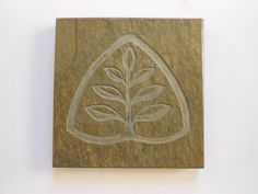Etched Slate Coaster - Commissioned Design Feel free to contact me about a design at BlythHouseCreations.com Slate Coasters, Coaster Design, Carving, Gallery, Free, Roof Rack, Wood Carvings, Sculptures, Printmaking