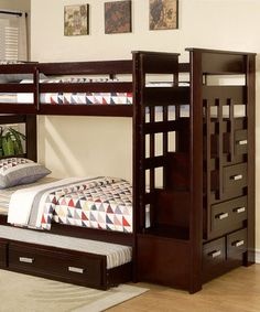 I think boys need bunk beds.
