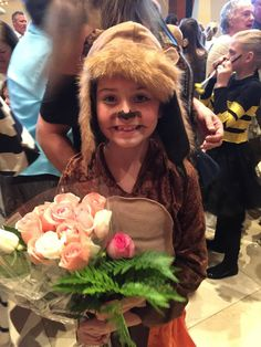 Rynne's stage debut as a Jungle Book Monkey.