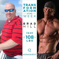 """""""...Don't try to keep up with everyone else. Compete with yourself. Push yourself. Don't worry about the people who are around you. Wrap yourself in a bubble and work your tail off!"""" - Brad Hill  Read his inspiring #TransformationTuesday"""