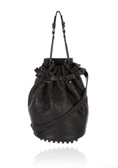 I seriously covet this bag.  My mother has it and I think that I need to borrow it ;) Alexander Wang Diego with matte black hardware.