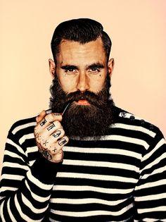 Clássica: barba cheia com bigode em expô de Mr. Elbank