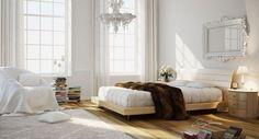 // Making Of 'Bedroom White & Wood' by Ramon Zancanaro