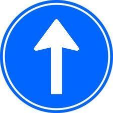 Je mag alleen rechtdoor verkeersbord: gemaakt door Alex en Timothy Classroom Decor, Emoji, Transportation, Crafts For Kids, Logos, Esl, School, Travel, Viajes