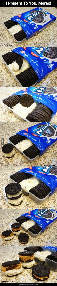 Oreo's for the artist and pregnant amongst us