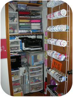 craft closet storage ideas, DSCN4667 by rain25girl, via Flickr,
