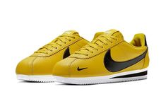 best service 6ce99 2599c Nike Cortez Premium Bright Citron 2 Nike Classic Cortez, Air Max 90, Nike  Air