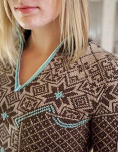 Aesa Pullover Pattern - Knitting Patterns and Crochet Patterns from KnitPicks.com by Kerin Dimeler- Laurence On Sale