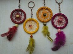 Check out this item in my Etsy shop https://www.etsy.com/uk/listing/271331399/dreamcatcher-keyring-native-american