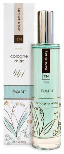 Terra Nova Rain Fresh Water Cologne Mist - Cologne