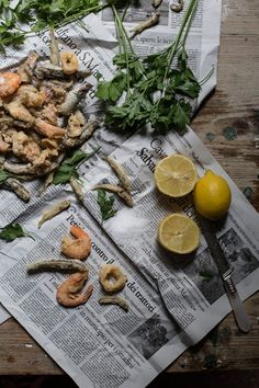 A Trip to Burano and a Recipe for a Seafood Fritoin, and Buranelli Butter Biscuits with Lemon and Rosemary - From My Dining Table