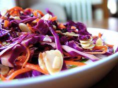 Ensalada de repollo morado en HazteVegetariano.com