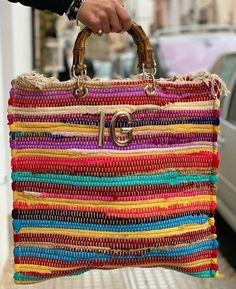 Trendy Handbags, Small Handbags, Sacs Design, Hippy Chic, Crochet, City Style, Casual Bags, Handmade Bags, Purses And Bags