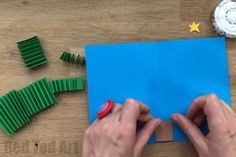 DIY Christmas Pop Up Card - Red Ted Art's Blog