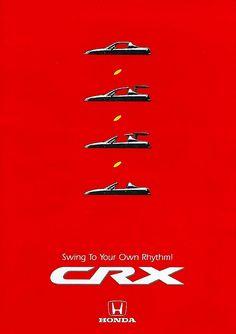 Honda CRX Hong Kong Brochure 1993