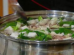 Očistná zeleninová polévka