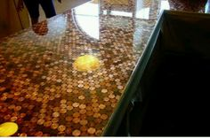 Penny counter tops!