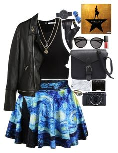 """""""How lucky we are to be alive right now"""" by starscounter394 on Polyvore featuring moda, Topshop, T By Alexander Wang, Yves Saint Laurent, Rachel Rachel Roy, Tarina Tarantino, Love Bravery, Smashbox, NARS Cosmetics y Uncommon"""