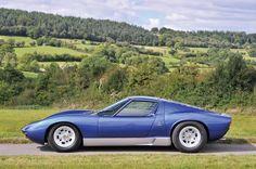 Rod Stewart's Old 1971 Lamborghini Miura SV Lamborghini Miura, Blue Lamborghini, Rod Stewart, My Dream Car, Dream Cars, 70s Cars, Collector Cars, Sexy Cars, Maserati