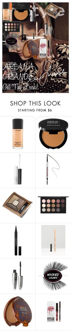ARIANA GRANDE : Get The Look! by oroartyellie on Polyvore featuring beauty, MAC Cosmetics, Estée Lauder, MAKE UP FOR EVER, Benefit, Clarins, NARS Cosmetics, L'Oréal Paris, NYX and Bourjois