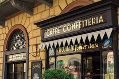 El exterior del Caffè Confetteria Al Bicerin de Turín