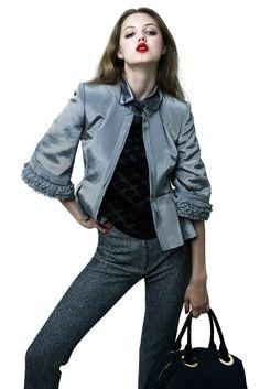 ZAC Zac Posen Resort 2012 Fashion Show - Lindsey Wixson