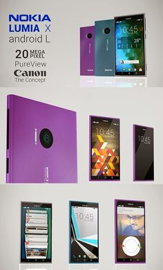 Check out amazing Nokia Lumia X Concept, with Android L and Canon camera technology. Would you buy it?