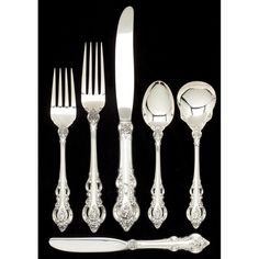 Leland Little Auctions has been providing collectors, families, estates and institutions with world-class auction services for over 20 years. Silver Highlights, Sterling Silver Flatware, Auction, Traditional