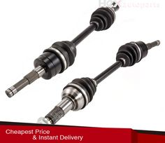 Complete Front Left /& Right CV Joint Axles Set for Polaris RZR XP 900 4x4 11-14
