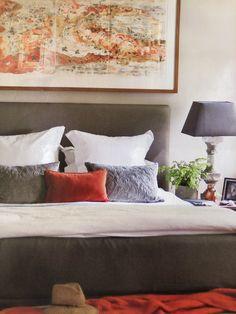 Wren, Bed Pillows, Master Bedroom, Pillow Cases, Blue, Pillows, Master Suite, Master Bedrooms, Bedroom