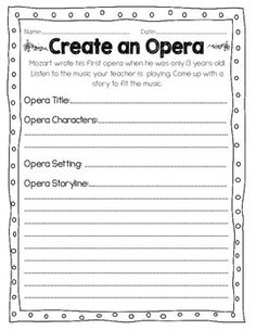STUDYING COMPOSERS: ALL ABOUT MOZART - TeachersPayTeachers.com