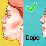 Ecco 7 esercizi efficaci per sbarazzarsi del doppio mento