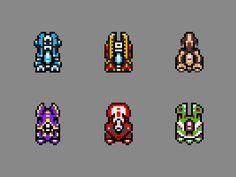 Imagem relacionada Top down spaceship animation sprite pixel art Animation Pixel, Top Down Game, Piskel Art, Game 2d, Pixel Drawing, 8 Bits, Space Games, Pixel Art Games, Animation Reference