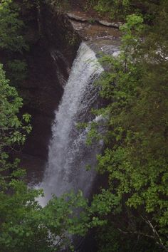 Bridal Vail Falls - Heber Springs, Arkansas