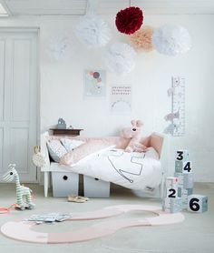 Scandinavisch, hip en modern: Done by Deer in de kinderkamer #kidsroom #donebydeer